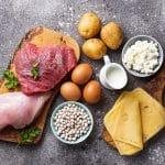 育乳中に取るべきタンパク質はどのくらい?