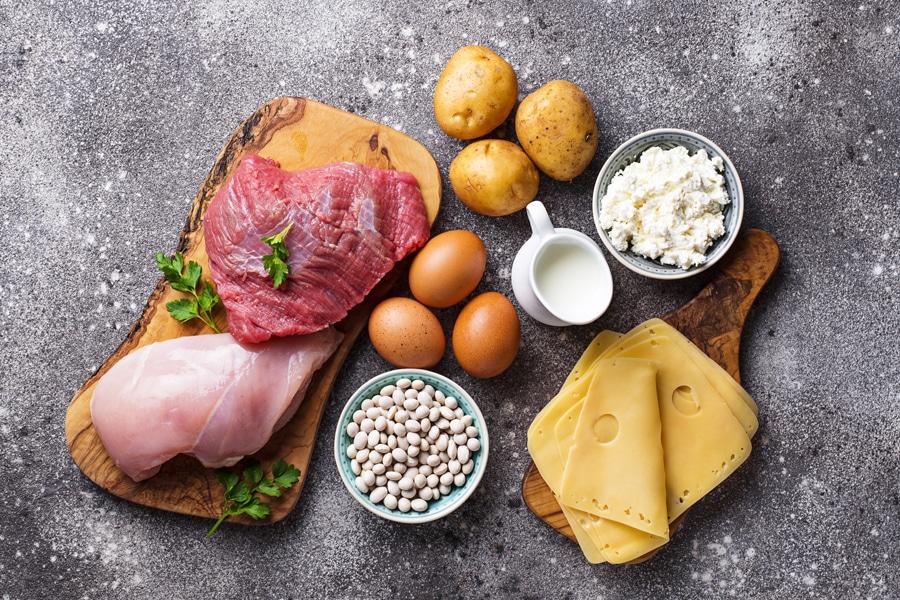 筋肉を作るタンパク質はバランスよく摂取しましょう