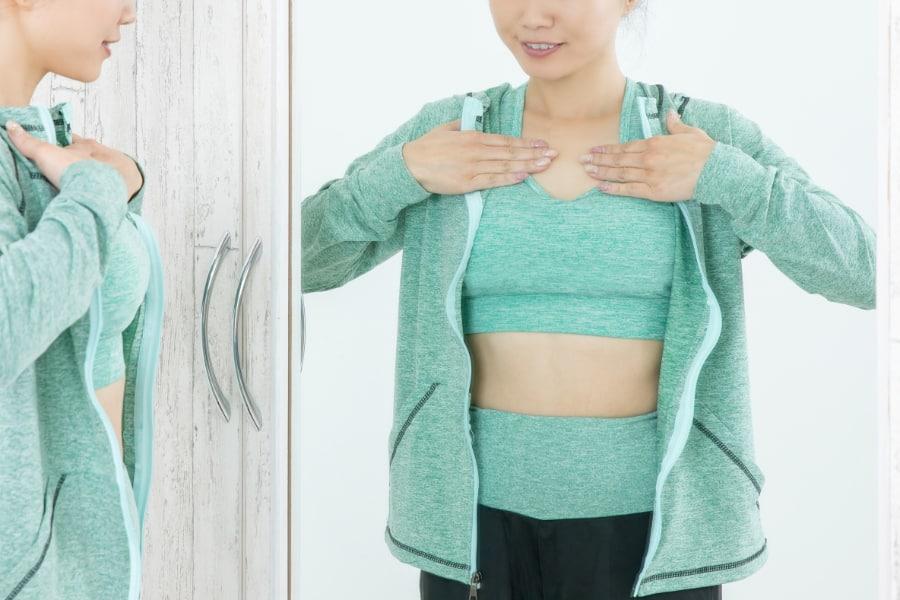 バストの垂れ防止には大胸筋トレーニングが効果的