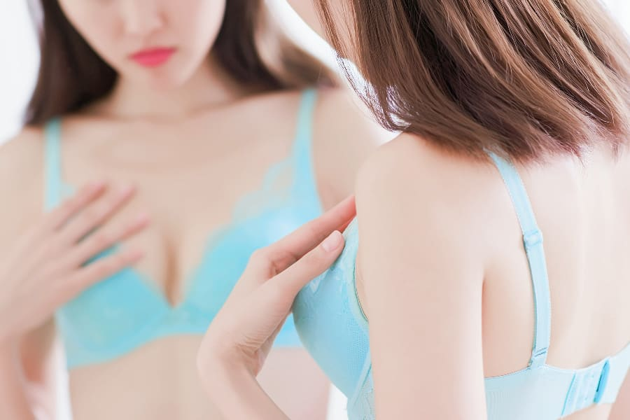 女性の70%は間違ったブラジャーを着けているといわれています!