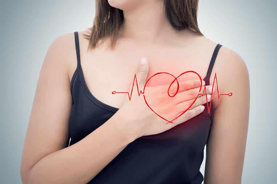 胸の大きさと心臓は関係があるの?