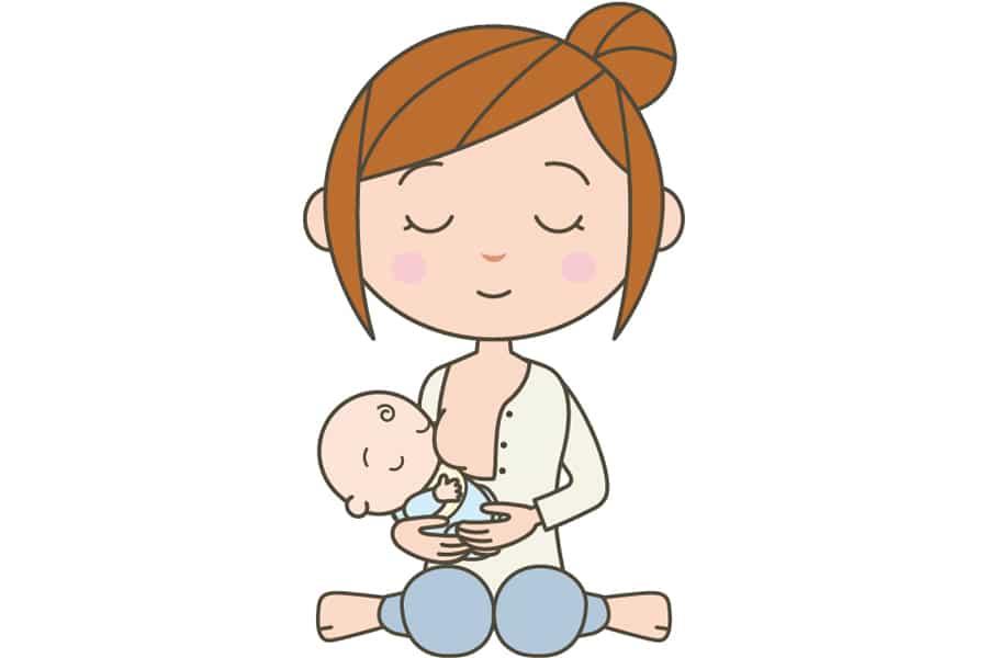 母乳のメリット②赤ちゃんの全身運動になる